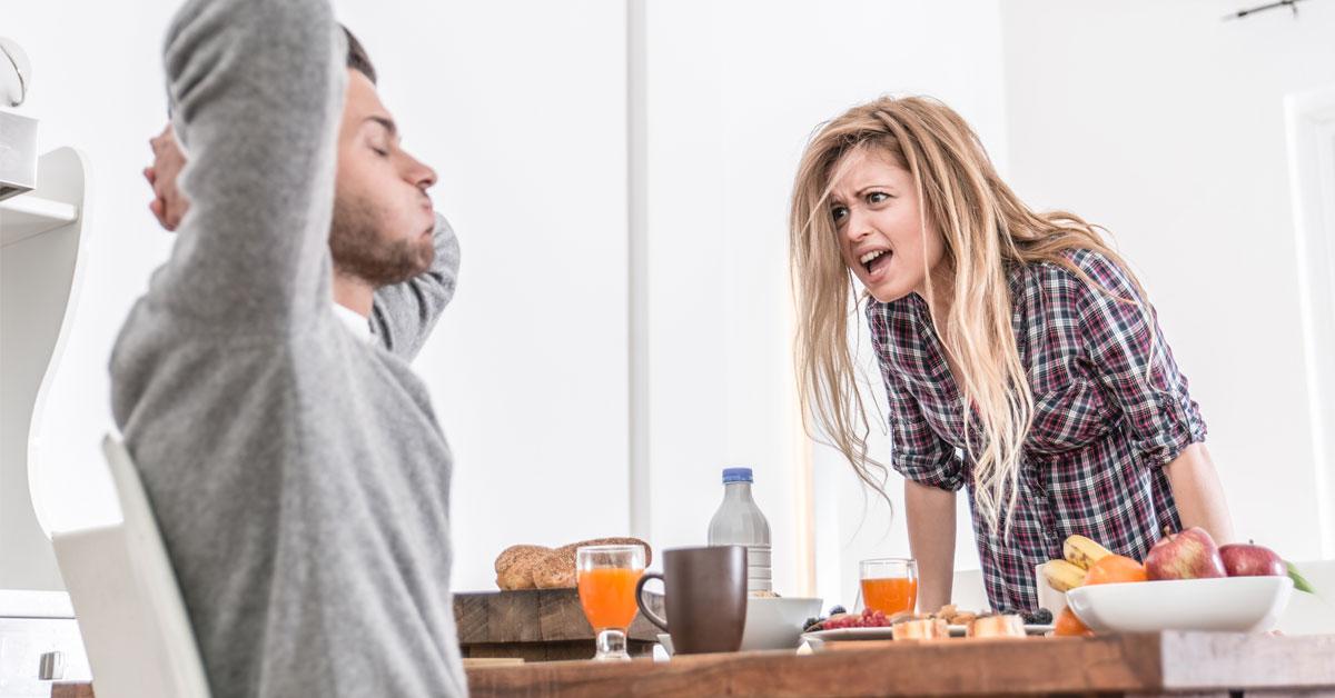 Irritatie is goed voor je relatie
